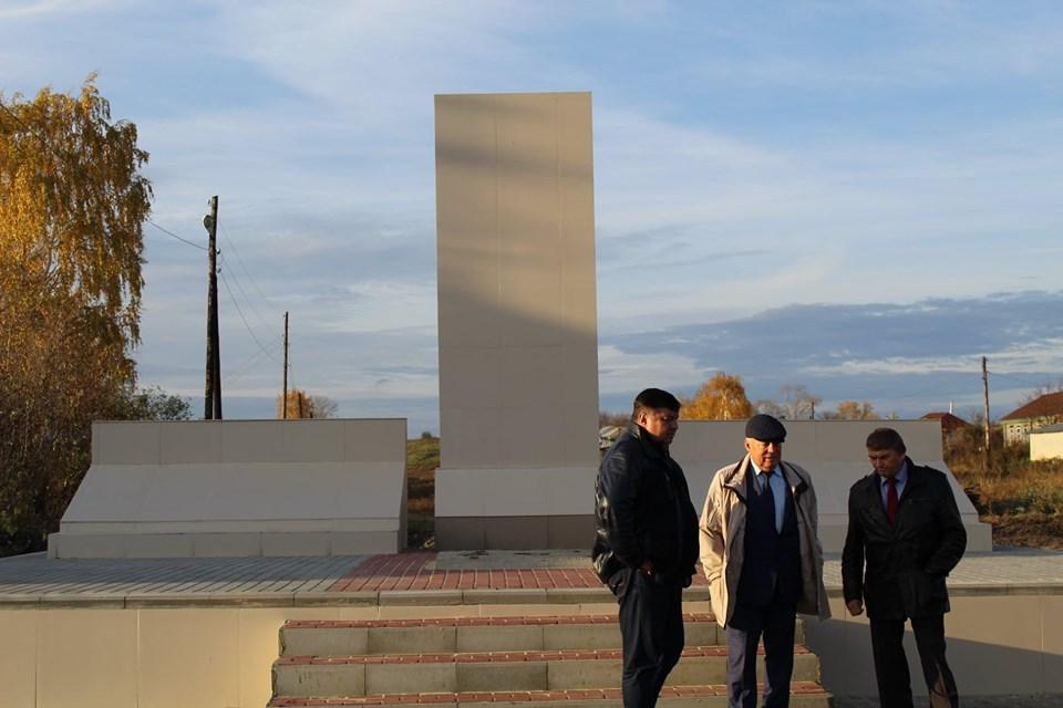 В Бондарском районе готовятся к открытию нового мемориального комплекса