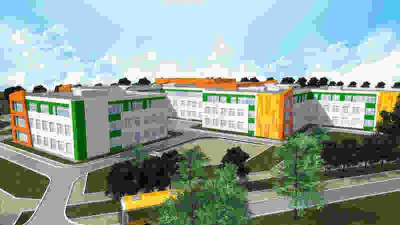 В Мичуринске стены нашумевшей новой школы распишут за 8 млн рублей