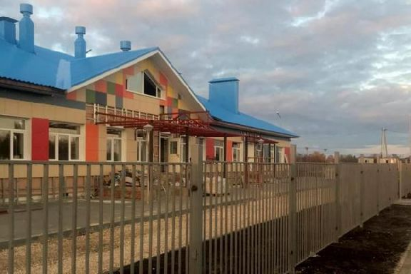 В Мичуринском районе завершается строительство детского сада