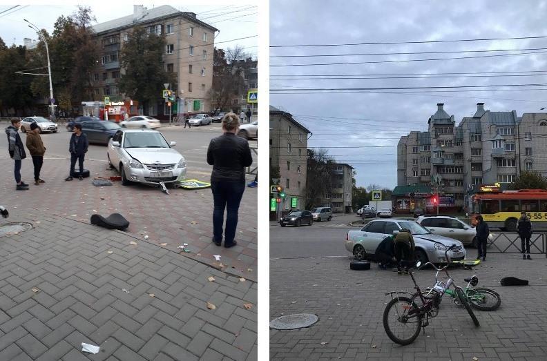В Тамбове на пересечении Советской и Полковой произошло второе за последние пару дней ДТП