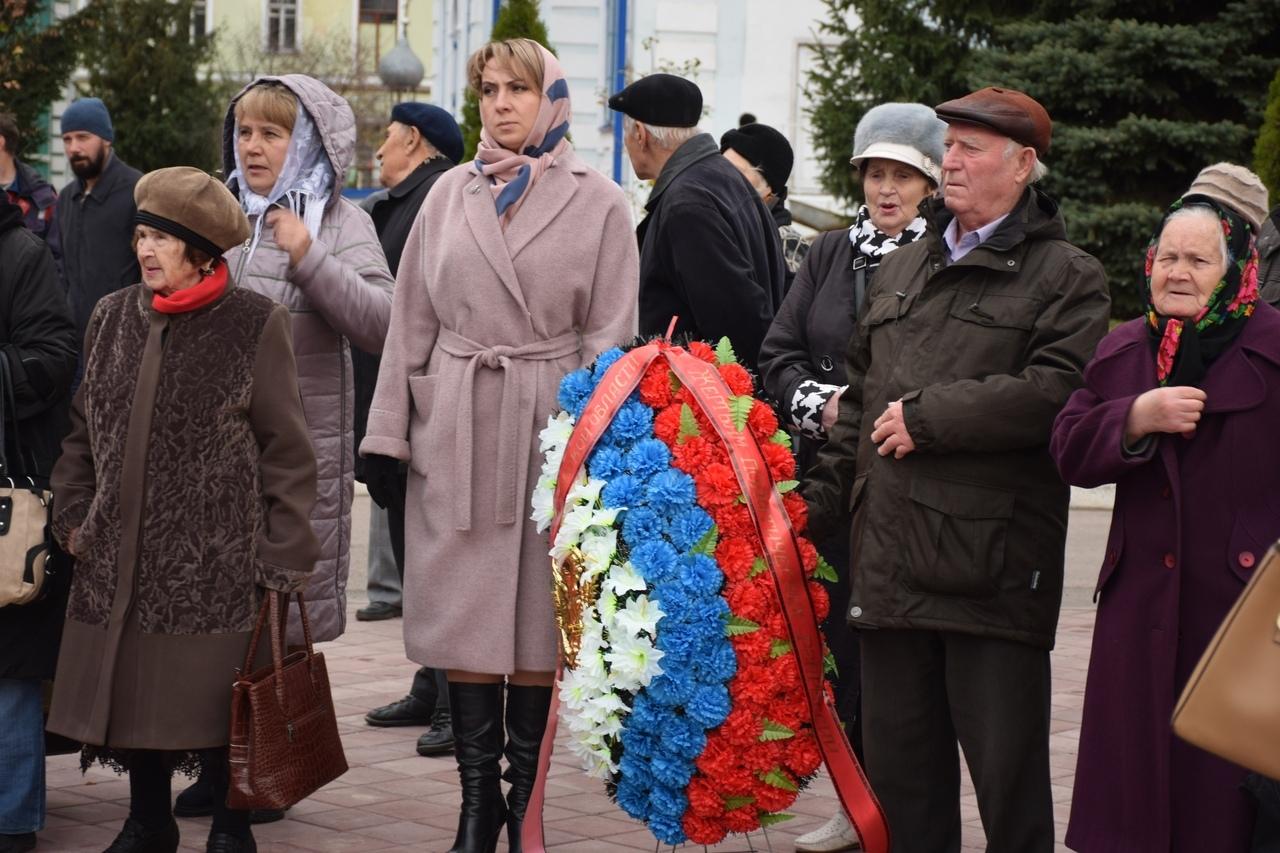В Тамбове почтили память жертв политических репрессий