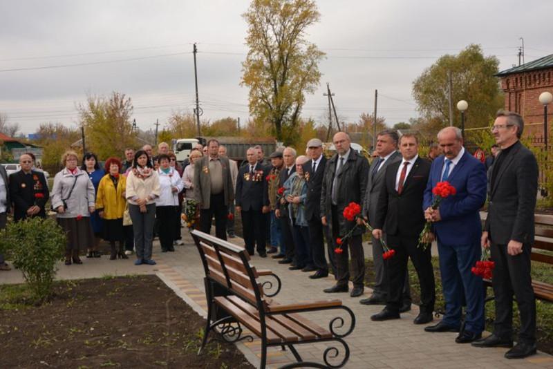В Тамбовской области открыли памятник ликвидаторам чернобыльской аварии