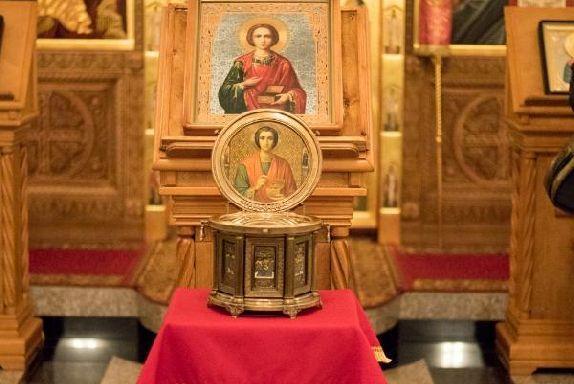 В Тамбовскую область прибудут мощи святого великомученика Пантелеимона