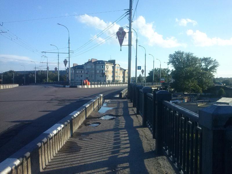 Жители Тамбова переживают за то, что путепровод «Октябрьский» может развалиться