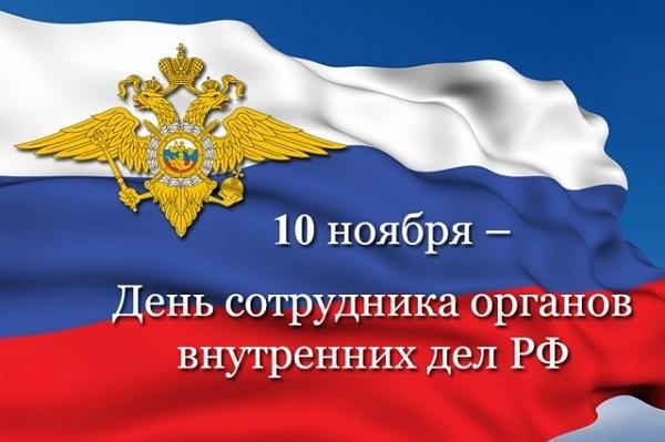 Александр Никитин поздравляет сотрудников ОВД с профессиональным праздником