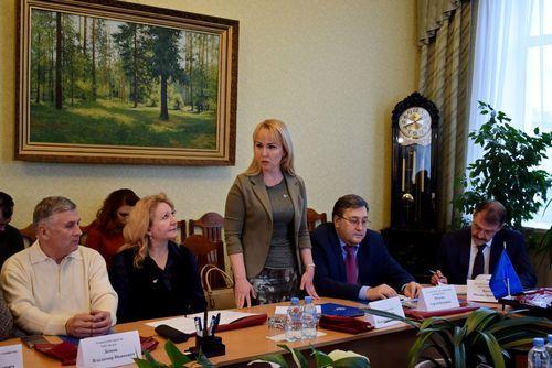 Глава Тамбова Наталия Макаревич приняла участие в заседании Регионального совета «СоюзМаш России»