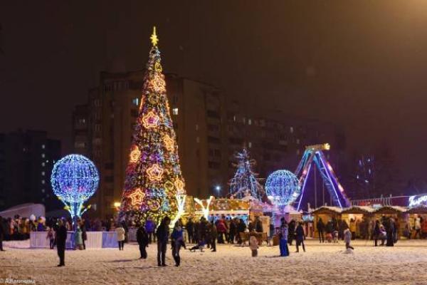 На новогоднее оформление Тамбова выделяется 5,5 миллионов рублей