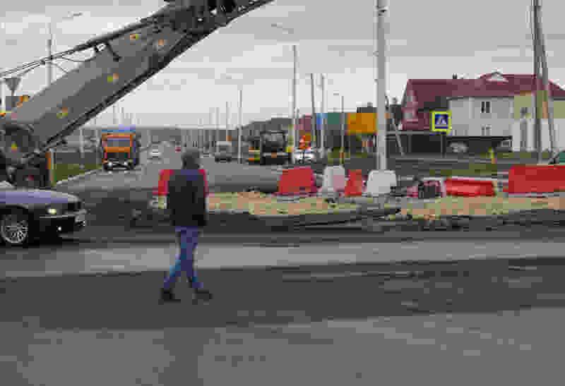 На севере Тамбова начали переоборудовать ненавистные кольца в обычные перекрёстки со светофорами