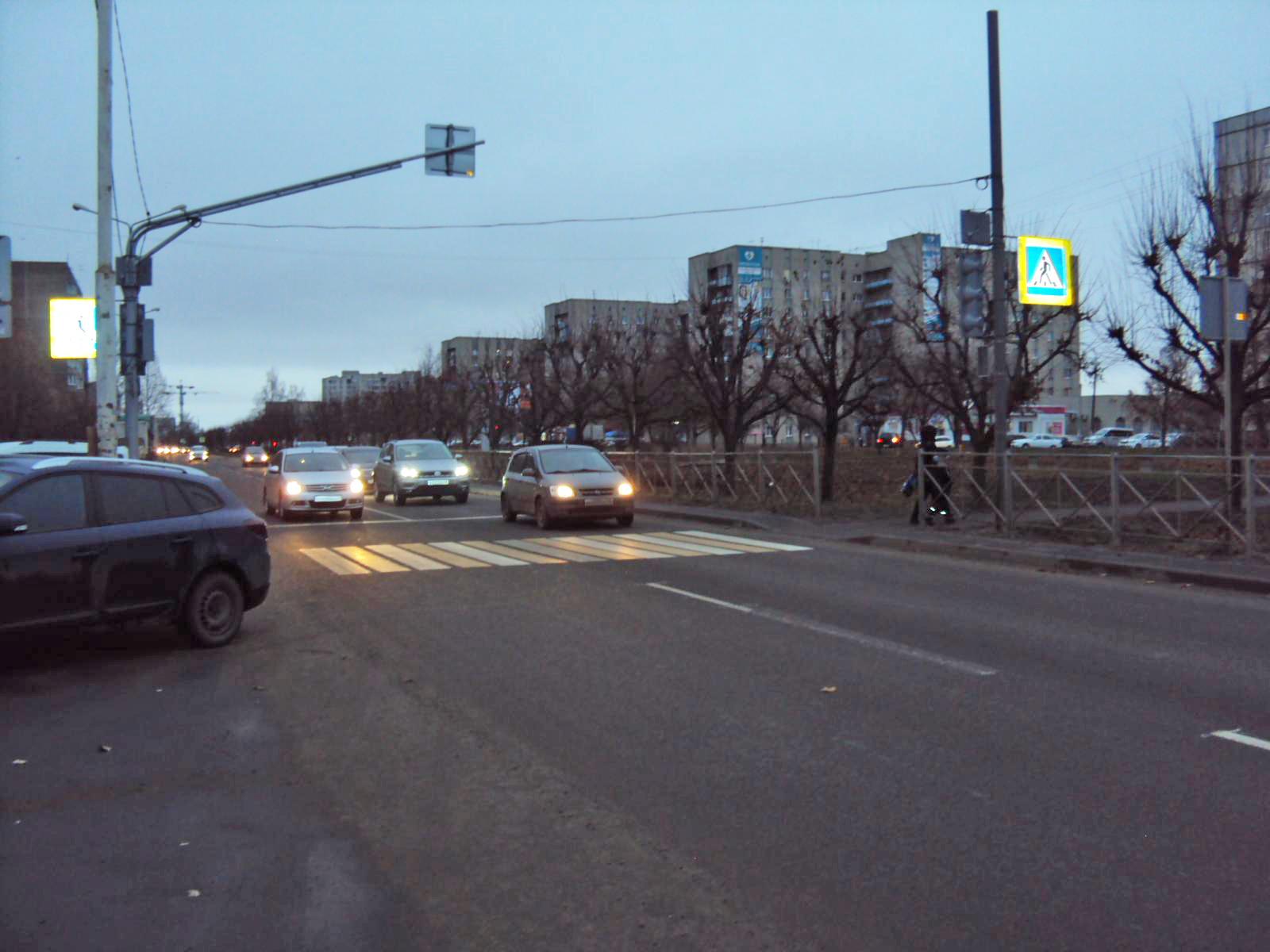 На севере Тамбова водитель иномарки сбил женщину на пешеходном переходе
