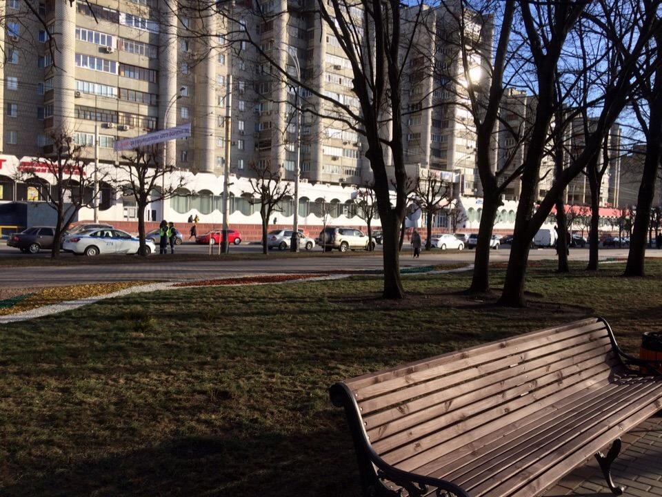 Отремонтированный фонтан и зарядки для телефонов: в Тамбове открыли сквер на площади Льва Толстого