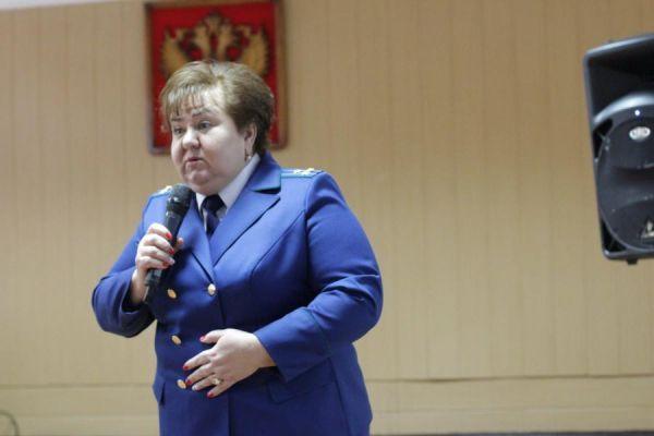 Прокурор Мичуринска Елена Шевчук ушла на пенсию