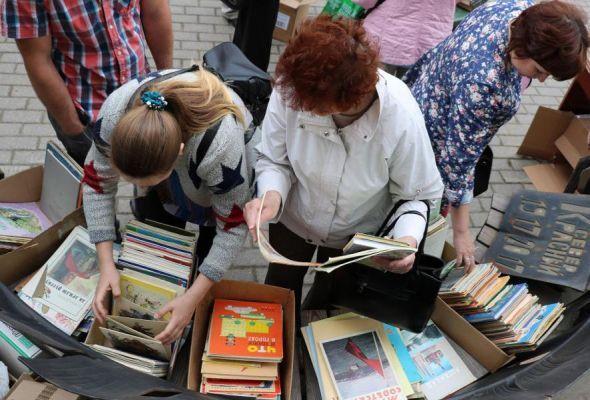 Пушкинская библиотека на два дня превратится во фримаркет