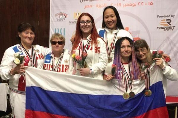 Тамбовчанка с нарушением зрения завоевала медаль на чемпионате мира по пауэрлифтингу