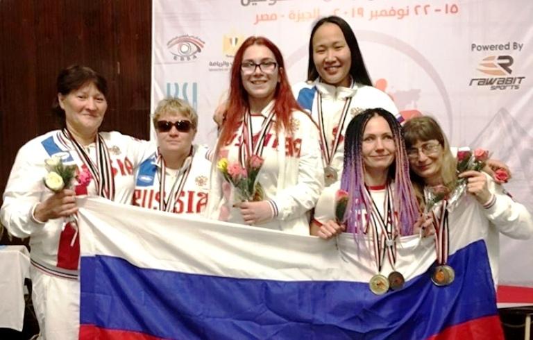 Тамбовчанка взяла серебро чемпионата мира по пауэрлифтингу в Египте среди спортсменов с нарушением зрения