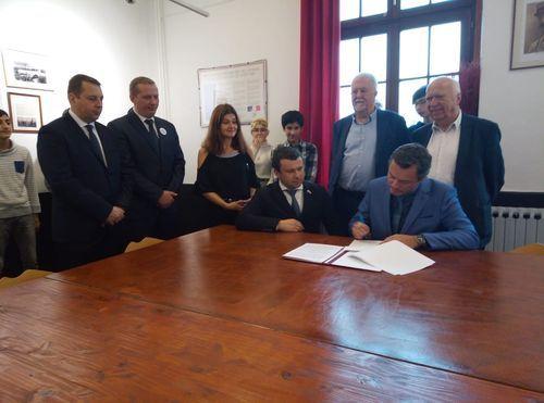 Тамбовская делегация подписала соглашение о сотрудничестве