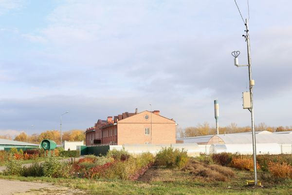 В МичГАУ установили две метеостанции