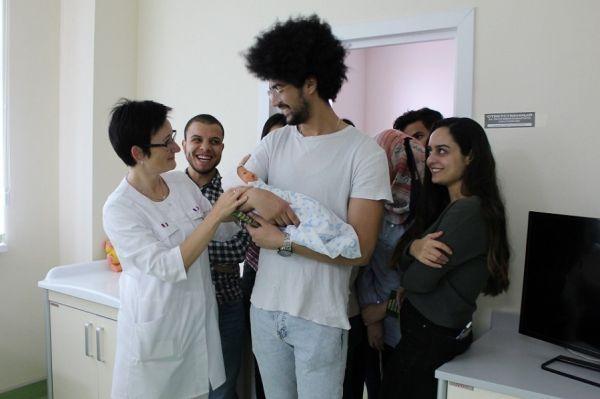 В Перинатальном центре провели День открытых дверей для иностранцев