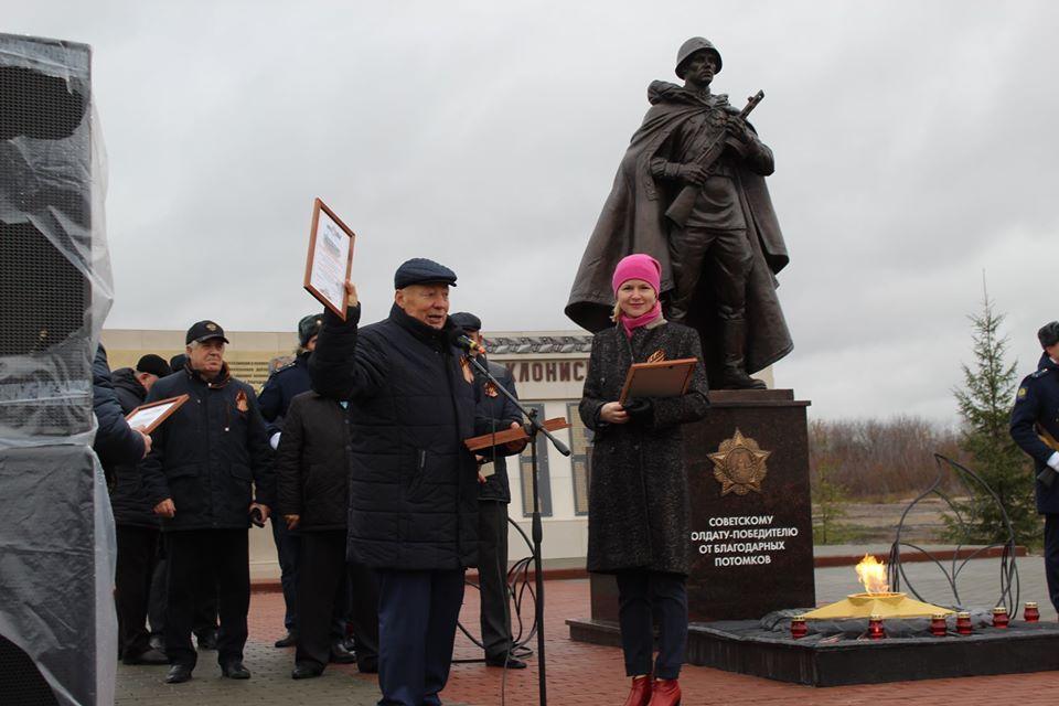 В Петровском районе открыли новый мемориальный комплекс