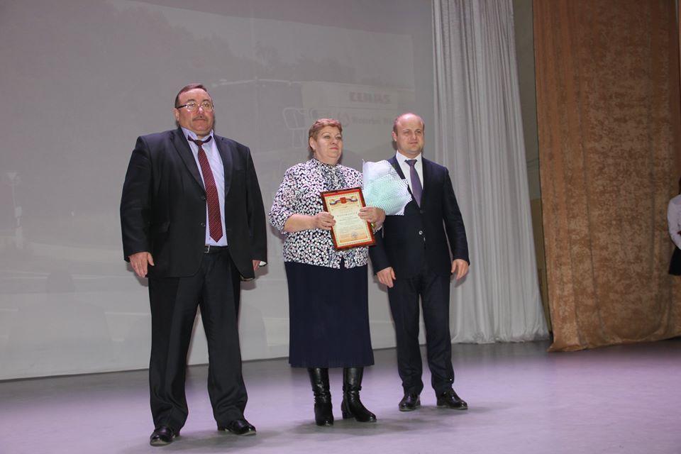В Рассказовском районе наградили аграриев и животноводов
