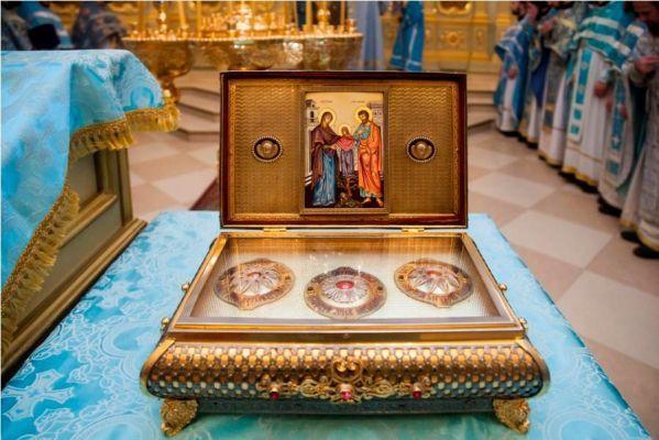 В Тамбов прибудет ковчег с частицей Пояса Пресвятой Богородицы