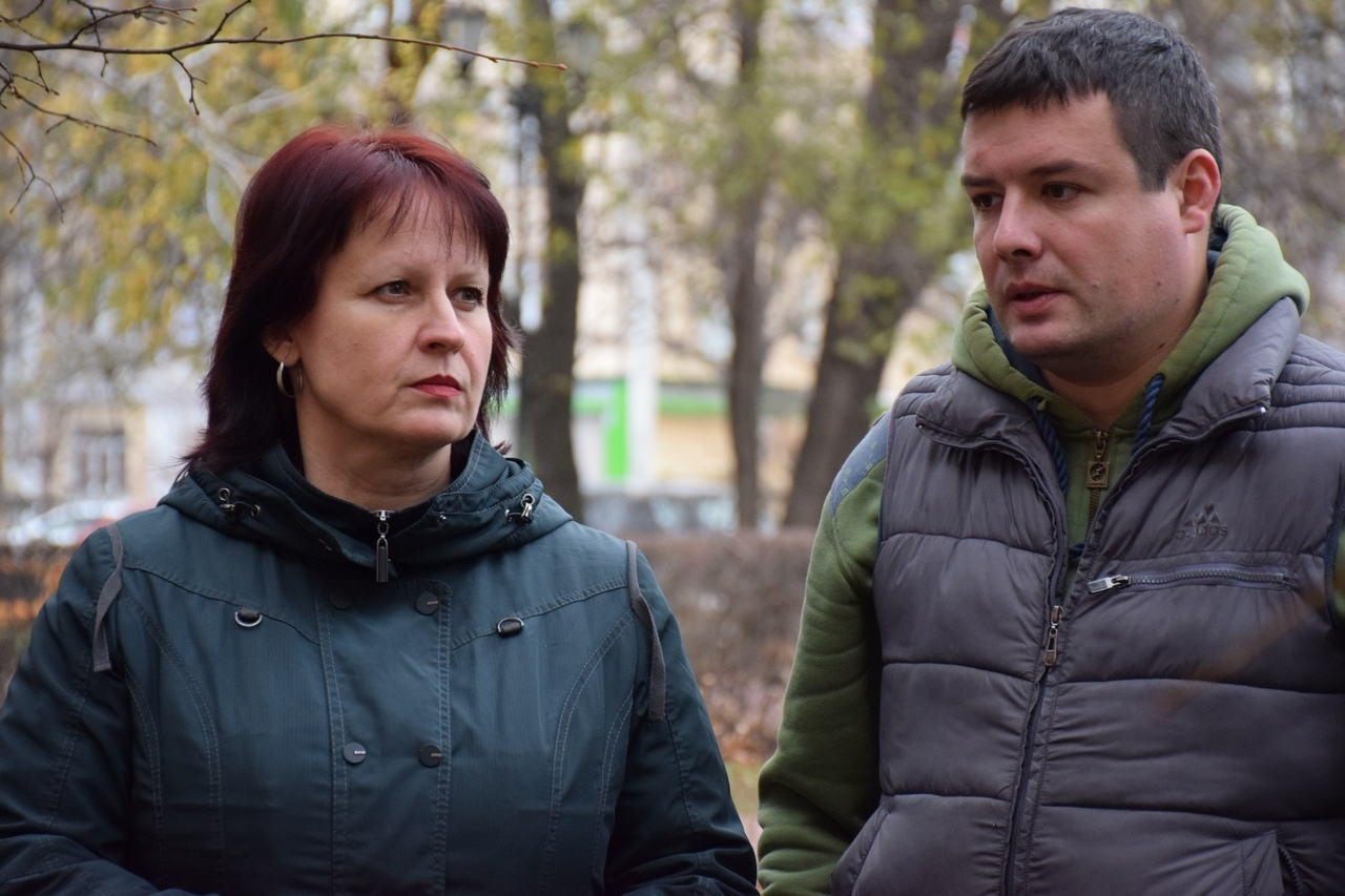 В Тамбове на Советской восстанавливают благоустройство после ремонта на теплосетях