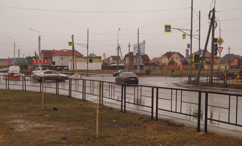 В Тамбове на улице Мичуринской произошла первая авария после ликвидации кольца на Агапкина: с сотрясением мозга был госпитализирован пешеход