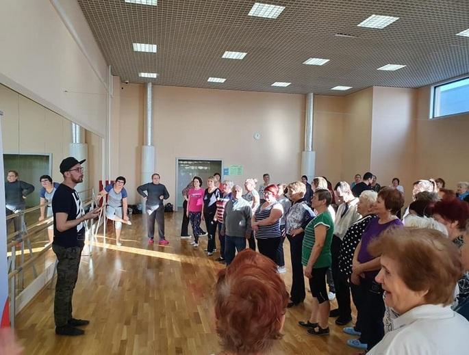 В Тамбове прошёл первый мастер-класс по танцам для старшего поколения