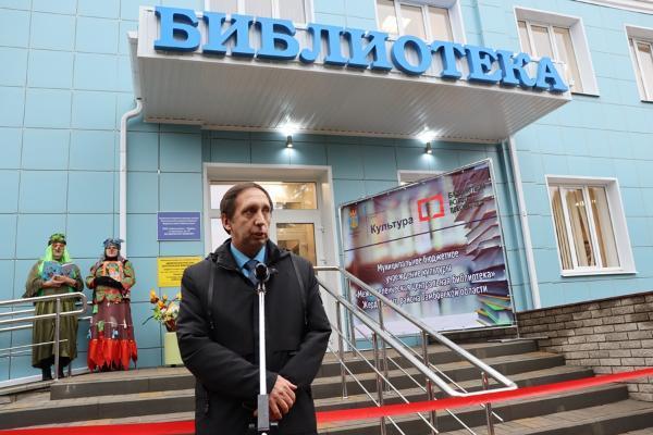 В Тамбовской области открыли первую модельную библиотеку