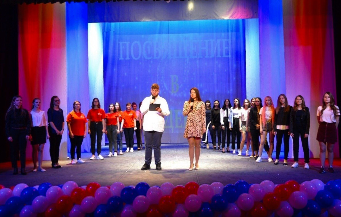 В Тамбовском филиале РАНХиГС состоялось посвящение первокурсников в студенты