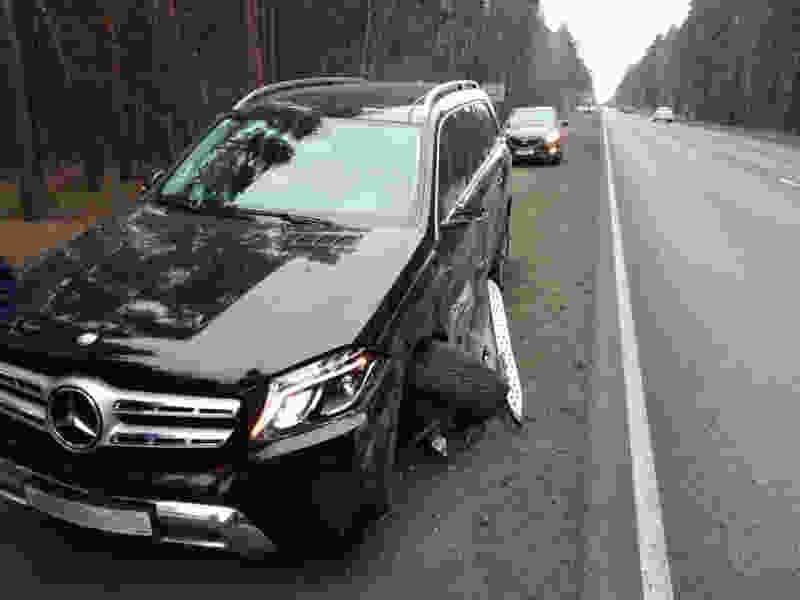 В Тамбовском районе «Мерседес-Бенц» врезался в «ВАЗ»: пострадал водитель