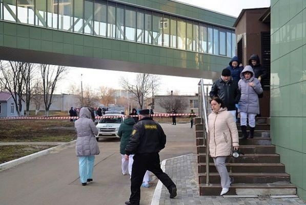 Из Перинатального центра в Тамбове эвакуировали сотрудников и посетителей
