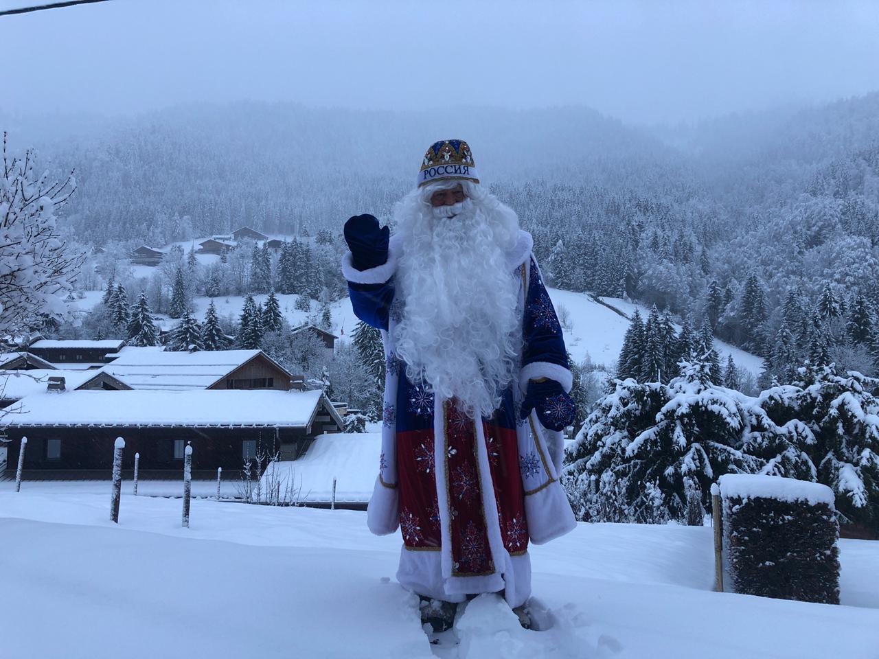 Российский спортивный Дед Мороз: Для меня главное - эмоции людей