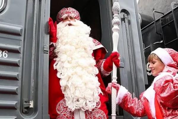 Тамбовчан в поездах поздравят с Новым годом