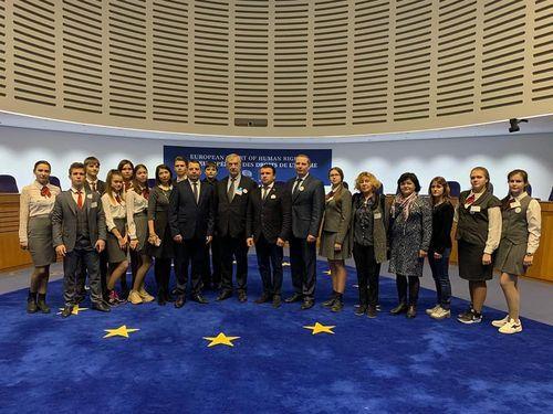 Тамбовская делегация вернулась с международного молодежного форума, который прошел в Страсбурге