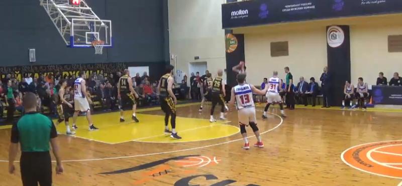 Тамбовские баскетболисты выиграли пятый матч подряд на чемпионате России