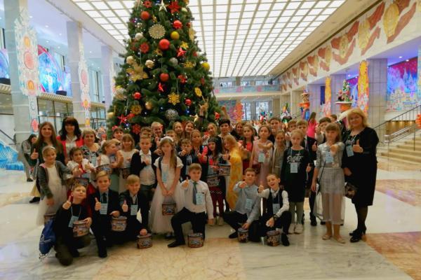 Тамбовские школьники вернулись с Всероссийской Кремлевской елки