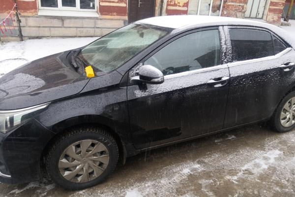 В Мичуринске задержали хулигана, поцарапавшего чужой автомобиль