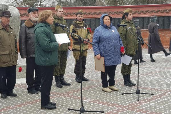 В Тамбовской области отмечают День Неизвестного солдата
