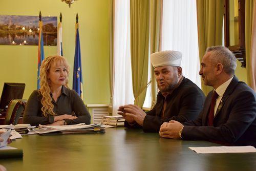 Глава города Наталия Макаревич встретилась с представителями местной организации мусульман