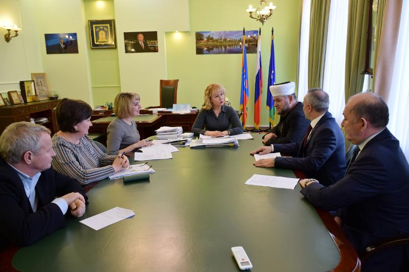Глава города Тамбова встретилась с представителями местной организации мусульман