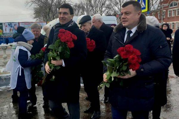 Игорь Щеголев и Александр Никитин почтили память героев Великой Отечественной войны