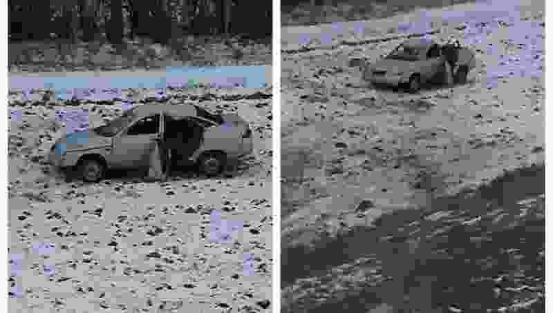 """На трассе в Тамбовской области """"десятка"""" перевернулась в кювет: пострадали водитель и его 20-летняя спутница"""