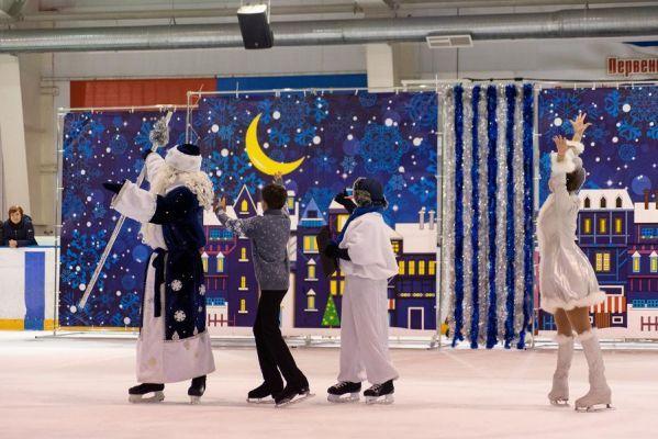 Новогоднее ледовое шоу в Тамбове прошло при аншлаге