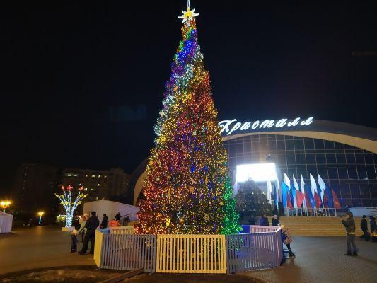 Новогодняя ночь в Тамбове прошла без происшествий