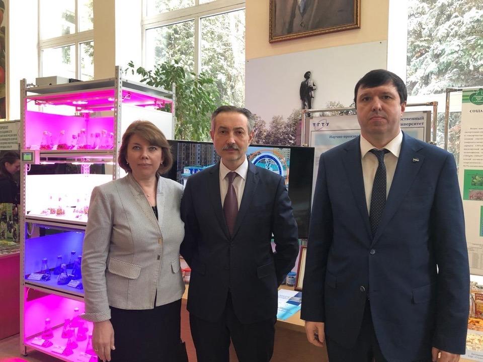 Полпред Президента в ЦФО ознакомился с разработками ученых ТГТУ