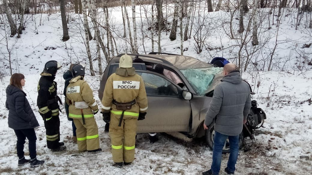 Страшная авария в Мичуринском районе: четыре человека погибли