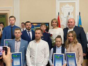 Церемония награждения лучших спортсменов 2019