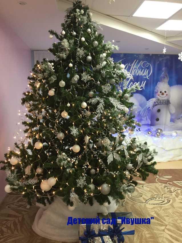 В детских садах Тамбова выбрали самую красивую новогоднюю ёлку