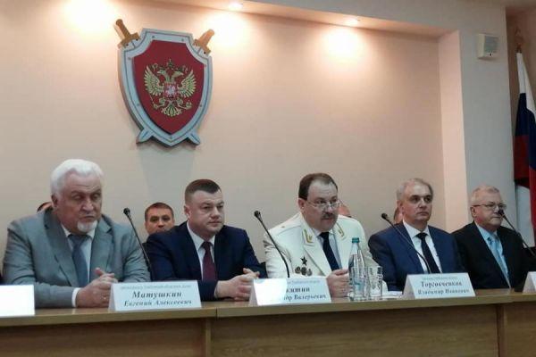 В прокуратуре Тамбовской области прошло торжественное заседание
