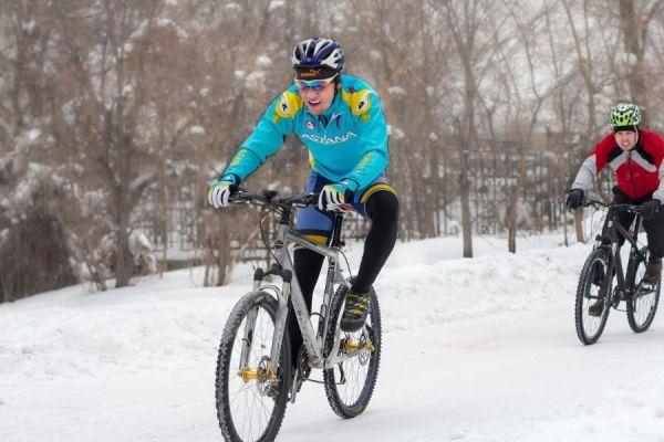 """В Тамбове проходят """"Новогодние велогонки"""""""